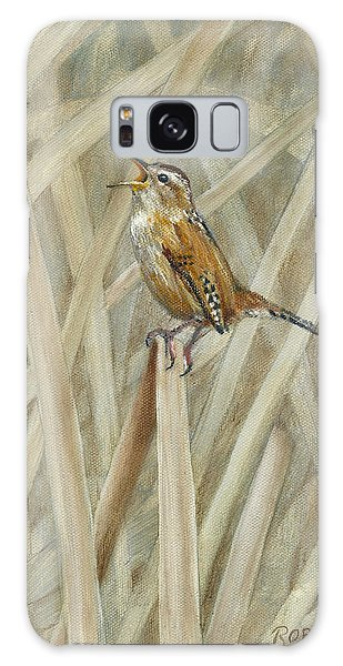 Wren Galaxy S8 Case - Marsh Melody by Dreyer Wildlife Print Collections