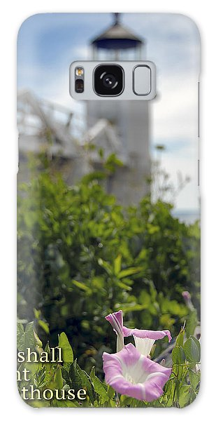 Marshall Point Lighthouse Galaxy Case