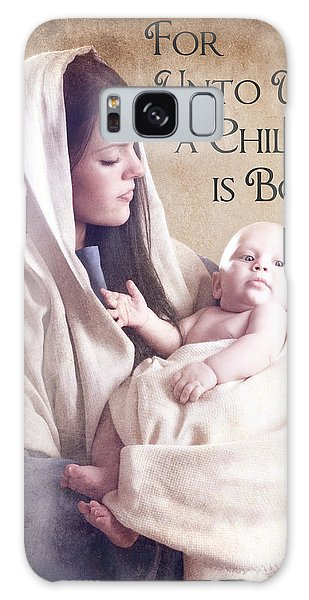 Mary And Jesus Galaxy Case