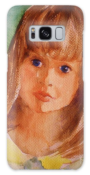 Mary's Little Girl Galaxy Case by Suzanne McKay