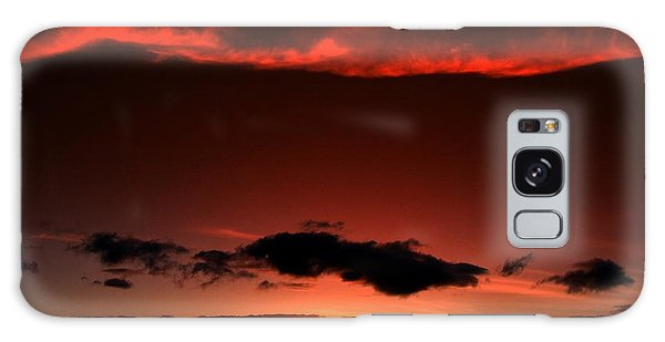 Maui Sunset Galaxy Case by Ron Roberts