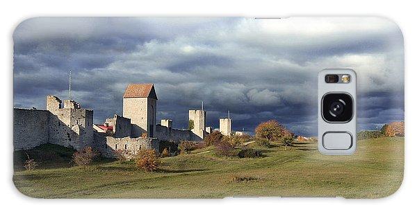 Medieval City Wall Defence Galaxy Case