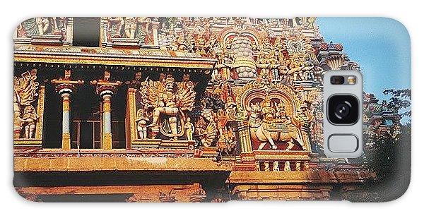 Religious Galaxy Case - Meenakshi Temple by Raimond Klavins