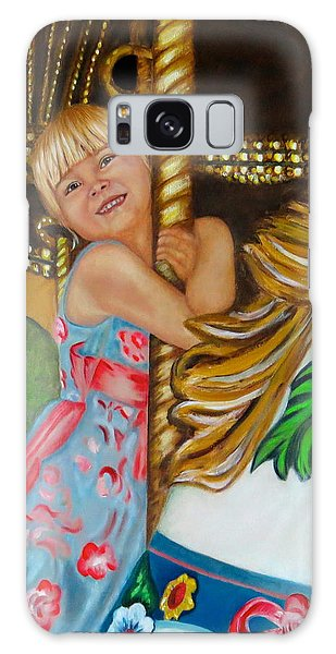 Merry-go-round Galaxy Case by Sharon Schultz