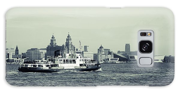 Mersey Ferry Galaxy Case by Spikey Mouse Photography