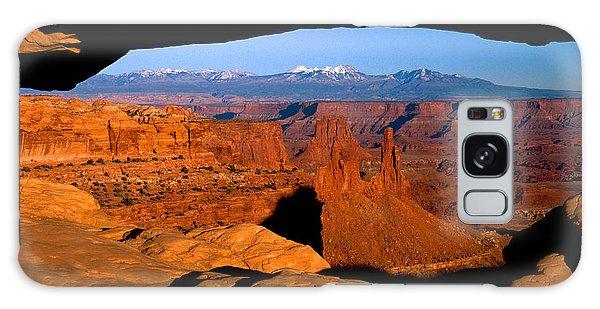 Mesa Arch Galaxy Case by Eric Foltz