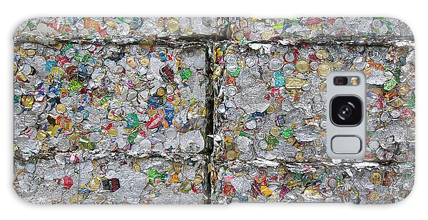 Wasted Galaxy Case - Metal Cans At A Recycling Centre by Peter Menzel