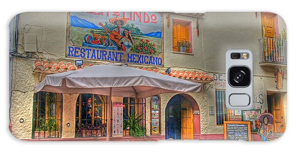 Mexican Restaurant Galaxy Case