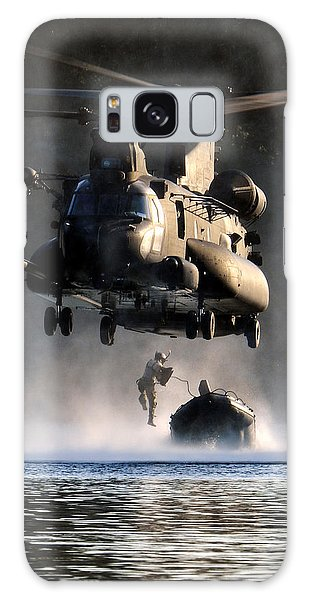 Mh-47 Chinook Helicopter Galaxy Case