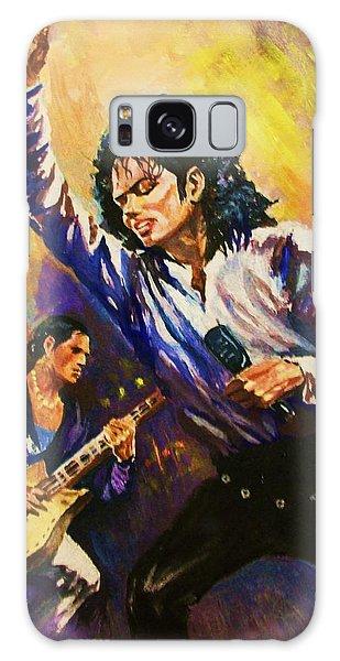 Michael Jackson In Concert Galaxy Case