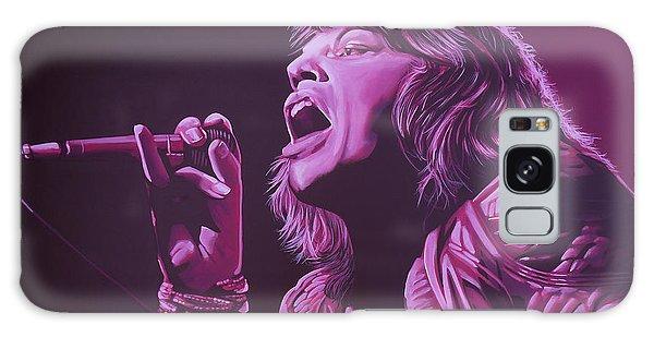 Mick Jagger 2 Galaxy Case by Paul Meijering