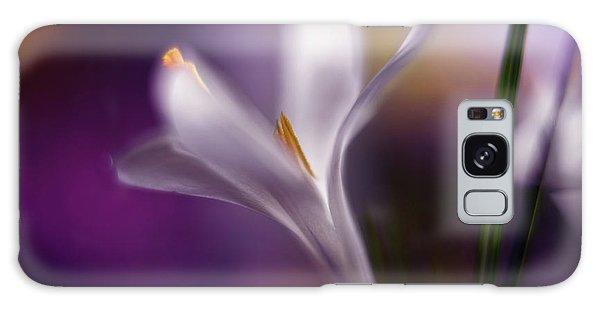 Flora Galaxy Case - Midnight Crocus by Heidi Westum