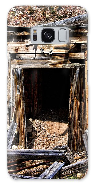 Midwest Mine Shaft Galaxy Case by Lana Trussell