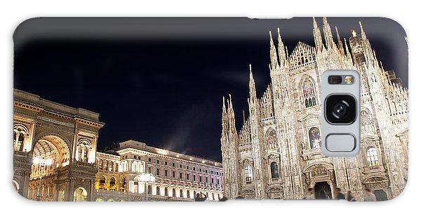 Milan Cathedral Vittorio Emanuele II Gallery Italy Galaxy Case