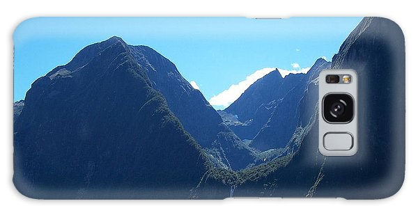 Milford Sound Waterfall II Galaxy Case