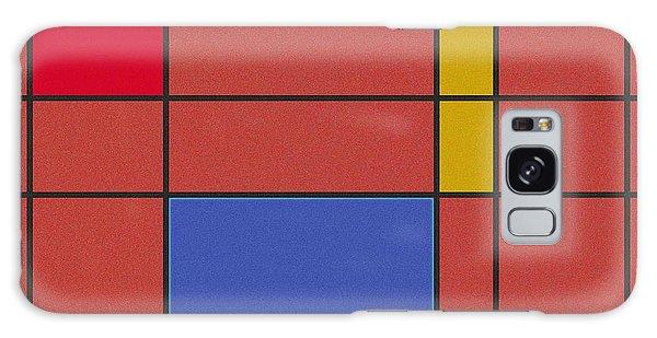Minimalist Mondrian Galaxy Case