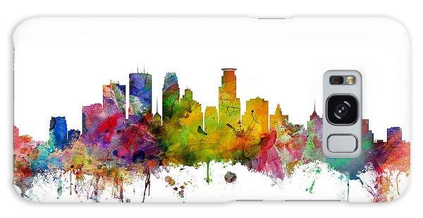 Usa Galaxy Case - Minneapolis Minnesota Skyline by Michael Tompsett