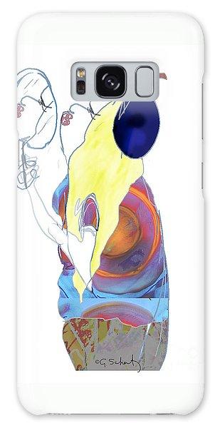 Mirror Mirror Galaxy Case by Gabrielle Schertz