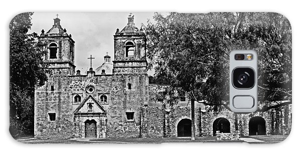 Mission Concepcion Galaxy Case by Andy Crawford