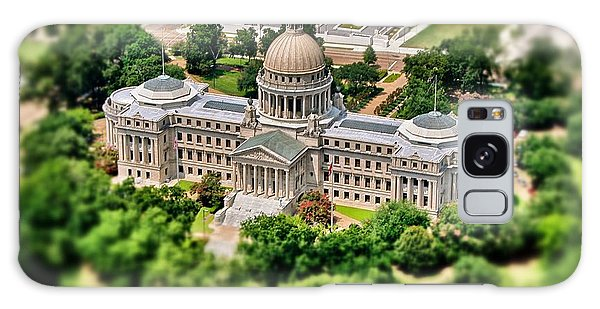 Mississippi State Capitol Aerial Galaxy Case