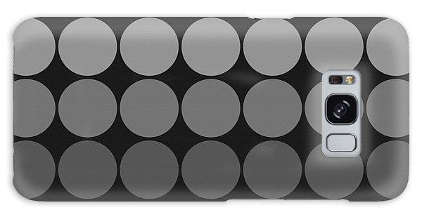 Mod Pop Gradient Circles Black And White Galaxy Case