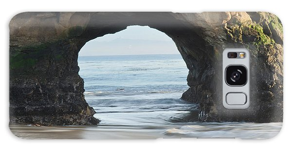 Monolith Natural Bridges State Beach  Galaxy Case