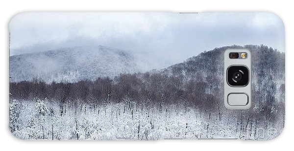 Mont Saint Hilaire Lac Hertel On A Winter Day Galaxy Case