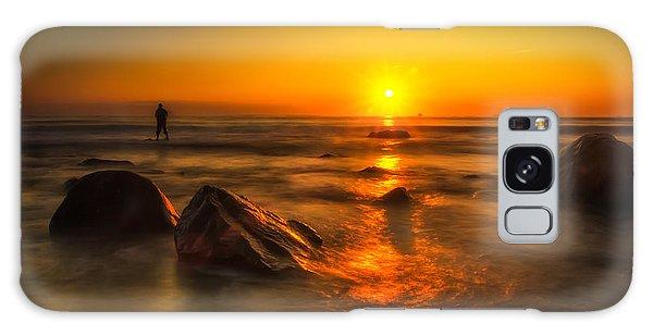 Montauk New York Summer Sunrise Galaxy Case