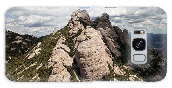 Montserrat Mountain In Spain Galaxy Case