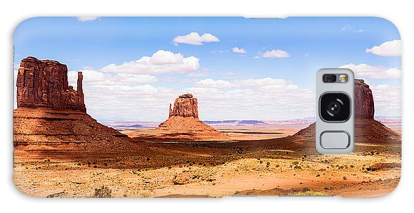 Monument Valley Panorama Galaxy Case