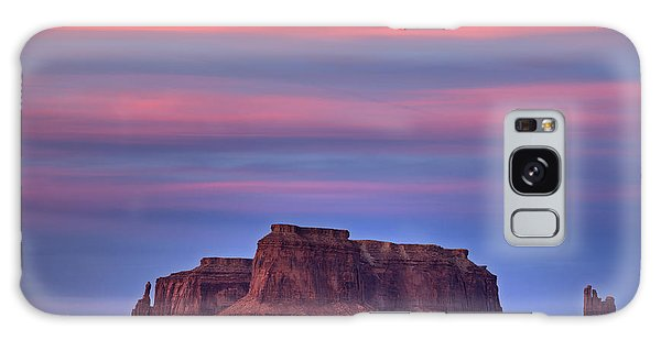 Monument Valley Sunset Galaxy Case by Alan Vance Ley