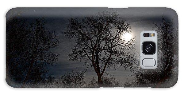 Moon Lit Galaxy Case