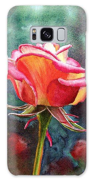 Rose Galaxy Case - Morning Rose by Irina Sztukowski