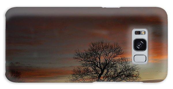 Morning Sky In Bosque Galaxy Case