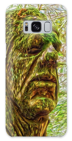 Moss Man Galaxy Case by Gregory Dyer