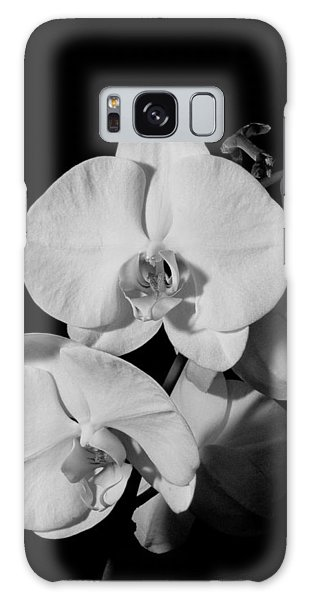 Moth Orchid Bw Galaxy Case