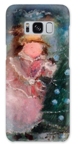 Mother Christmas Galaxy Case by Laurie L