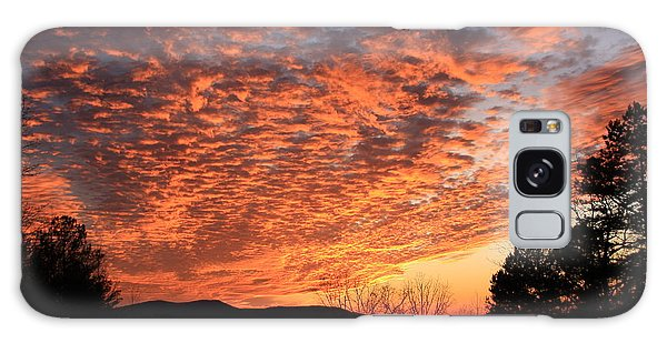 Mount Cheaha Sunset Alabama Galaxy Case by Mountains to the Sea Photo