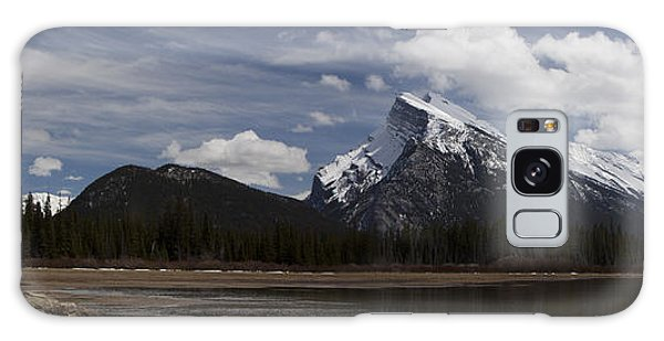 Mount Rundle And Vermilion Lake Galaxy Case