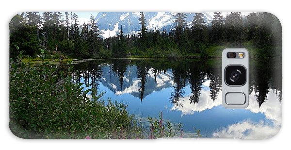 Mount Shuksan Reflection Galaxy Case