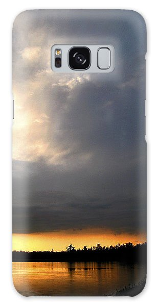 Galaxy Case - Mountain Lake Sunset Pocono Region Pennsylvania  by A Gurmankin