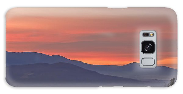 Mountain Sunrise 1 Galaxy Case