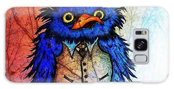 Mr Blue Bird Galaxy Case