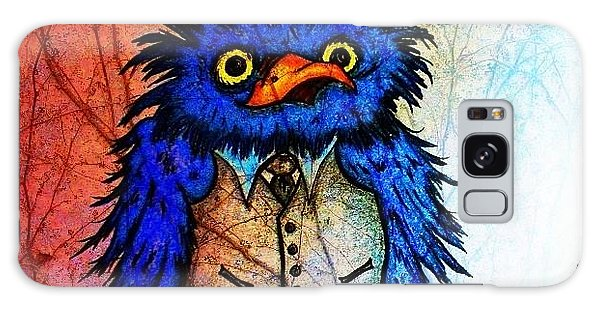 Mr Blue Bird Galaxy Case