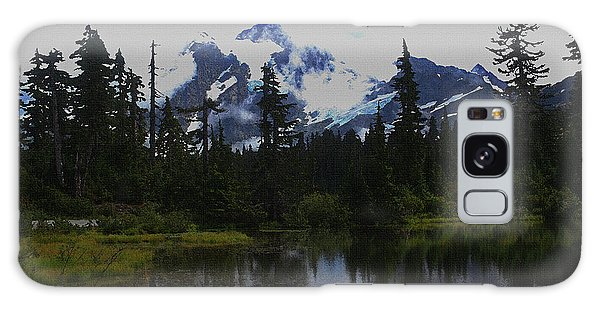 Mt Baker Washington  Galaxy Case by Tom Janca