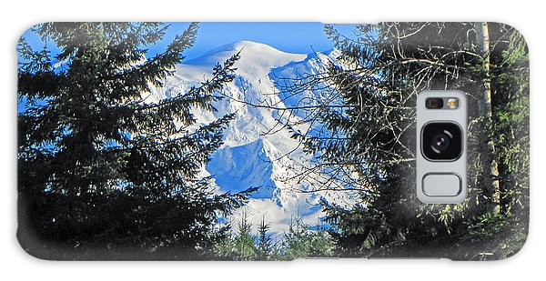 Mt. Rainier I Galaxy Case by Tikvah's Hope