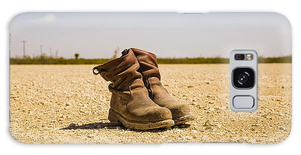 Muddy Work Boots Galaxy Case