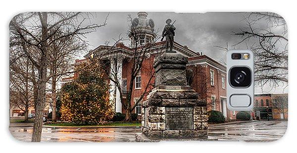 Town Square Galaxy Case - Murfreesboro Town Hall by Brett Engle