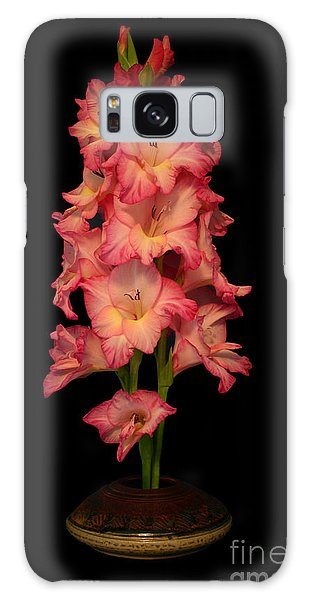 My Gladiolus Galaxy Case by Annlynn Ward