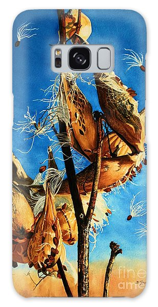 Nature's Launch Pad Galaxy Case by Barbara Jewell